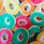 Fizzy Rings, Tub of 120 pcs, 5p Range