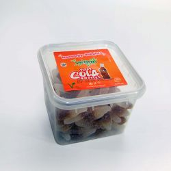 Vegan Mini Fizzy Cola Bottles 150g tub