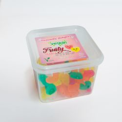 Vegan Fruity Hearts 150g Tub