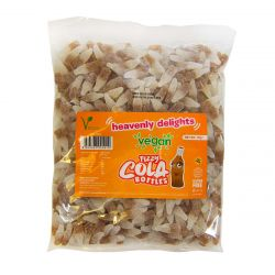 Vegan Mini Fizzy Cola Bottles 1Kg Bulk bag