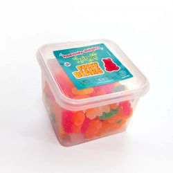 Vegan Fizzy Bears 150g Tub