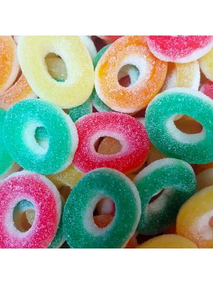 Fizzy Rings, Tub of 120 pcs, 5p Range