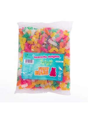Vegan Fizzy Bears 1KG Bulk Bag