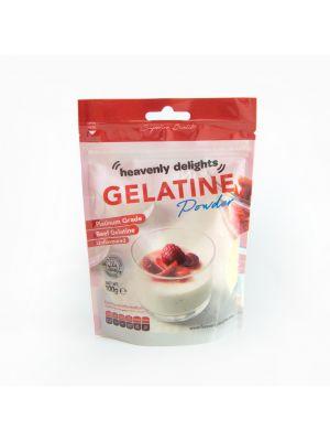 Halal Beef Gelatine Powder [Box of 24 x 100g Packs]