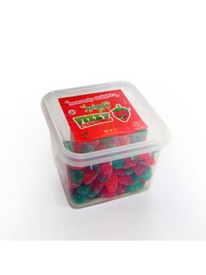 Vegan Fizzy Strawberries  150g Tub
