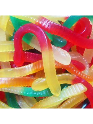 Jelly Worms, Tub of 120 pcs, 5p Range