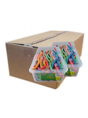 Fizzy Assorted Pencils, Tub of 75 pcs, 10p Range [Box of 6 Tubs]